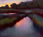 "Beth Williams - ""Summer Evening Creek"""