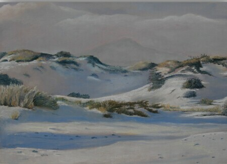 "Phyllis Real ""White Sands Magic"" 14x19"